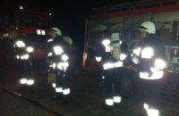 В Днепре на территории завода случился пожар (ФОТО)