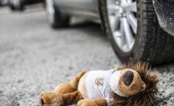 В Днепропетровской области 3-летний малыш попал под колеса авто