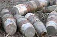 На Приднепровской железной дороге обнаружен целый арсенал мин