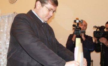 Александр Вилкул проголосовал  за будущее Днепропетровщины