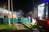 В Никополе во время тушения пожара было обнаружено тело хозяина дома