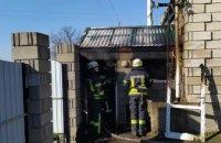 В Петриковском районе пожарные ликвидировали возгорание в частном доме: огнем повреждены крыша и твердотопливный котел