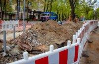 В Днепре продолжают замену магистральных сетей водоснабжения