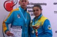 Никопольцы взяли медали на Чемпионате Европы по гиревому спорту