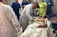 В Мечникова доставили 4 раненых: 21-летний парень с крайне тяжелым минно-взрывным ранением головы