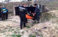 На Днепропетровщине спасатели оказали помощь мужчине,  находящемуся в тоннеле теплотрассы (ФОТО)