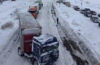 «Укравтодор» рассказал о ситуации на трассах из-за снегопада