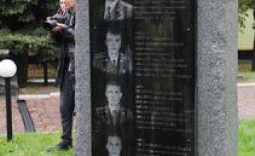 Глеб Пригунов открыл памятник погибшим в АТО