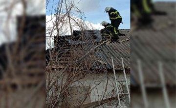 В Пятихатском районе горело неэксплуатируемое здание