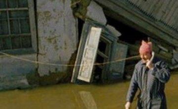 В Украине затопило три области