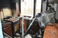 В Индустриальном районе Днепра горела квартира