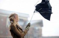 В Днепропетровской области сохраняется штормовое предупреждение: сильный ветер и дождь с  мокрым снегом