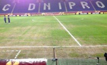 Капитальный ремонт газона на Днепр-Арене проведут летом 2014 года, - гендиректор «Днепра»