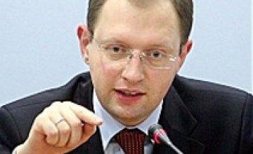 Арсений Яценюк: «Я никому не дам толкать себя на неконституционные действия»