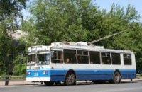 В Днепре троллейбус №10 будет курсировать по новому маршруту