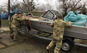 Днепропетровский рыбоохранный патруль получил три новые лодки