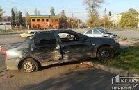 В Днепропетровской области Mitsubishi влетел в легковушку: есть пострадавшие (ФОТО)