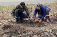 У сквері ім. В. Клюєва у Дніпрі провели День довкілля