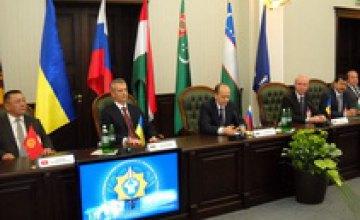 В Днепропетровске прошло юбилейное заседание Совета руководителей органов безопасности и спецслужб государств СНГ