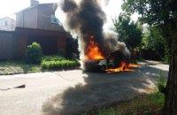 В Никополе мужчина сгорел заживо в собственном автомобиле (ФОТО)