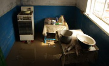 Жители 10-ти домов признаны пострадавшими в результате прорыва водогона