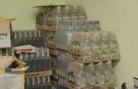 В Днепре около 700 литров изъятого алкоголя направят на изготовление антисептиков