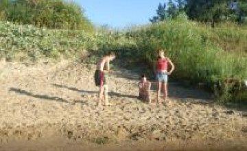 Пляжи Днепропетровска не в полной мере подготовлены к летнему сезону