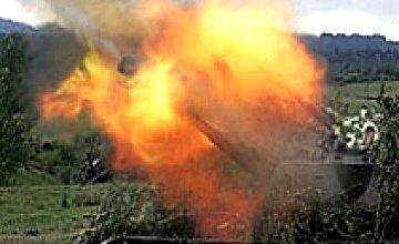 Грузинские войска возобновили массированный обстрел Южной Осетии