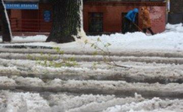 Днепр стал рекордсменом региона по количеству выпавшего снега, - Гидрометцентр