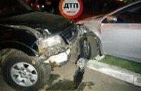 Ночная погоня в Киеве за пьяным водителем закончилась 5 разбитыми автомобилями (ФОТО)