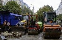 У Дніпрі будують зливову каналізацію в районах, де її ніколи не було