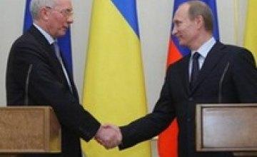 Путин встретится с Азаровым в Стамбуле