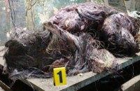 В Каменском задержаны похитители кабеля с награбленным имуществом и оружием (ФОТО)