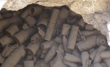 В Днепропетровской области обнаружено более 200 боеприпасов времен ВОВ