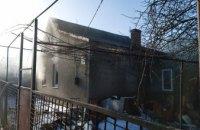В Каменском сгорел дом: погиб владелец (ВИДЕО)