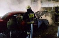 В Днепре во время движения загорелся автомобиль «ЗАЗ-DAEWOO»
