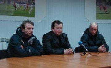 В днепродзержинской «Стали» произошла очередная смена тренера