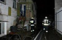 В Днепре произошел пожар в жилом доме (ФОТО)