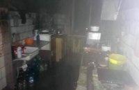 На Днепропетровщине горело общежитие: 10 человек эвакуировано, среди них - трое детей
