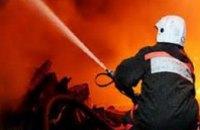 В Днепропетровске произошел пожар на ж/м Тополь-2