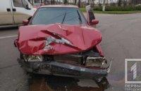 На Днепропетровщине столкнулись две иномарки: есть пострадавшие (ФОТО)
