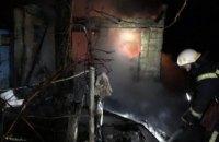 Ночью в Каменском  сгорела дача