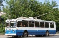 Завтра троллейбусы №10 и № 12 в Днепропетровске изменят маршрут