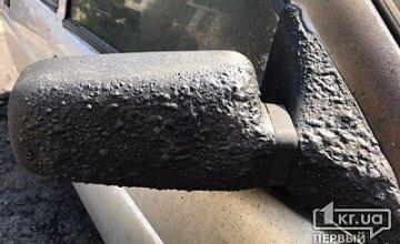 На Днепропетровщине сгорела легковушка
