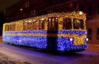 В Днепре на Новый год перекроют улицы и продлят работу транспорта