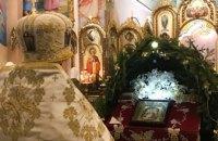Рождественская литургия в храме Святого Равноапостольного Князя Владимира (ФОТОРЕПОРТАЖ)