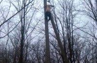На Днепропетровщине обнаружили тело мужчины на высоковольтной опоре (ФОТО)