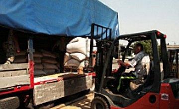 Днепропетровская область отправит 200 т продуктов на Западную Украину