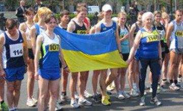 Днепропетровские спортсмены заняли 1-е место на чемпионате Украины в беге на 20 км