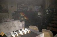 В центре Днепра сгорело кафе (ВИДЕО)